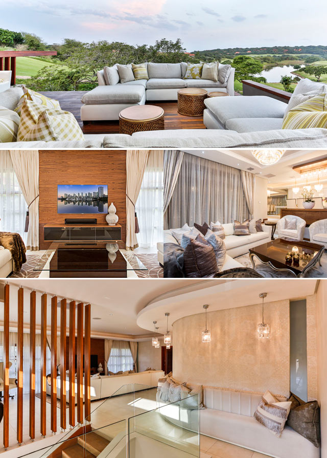 Top billing features a glamourous Zimbali home