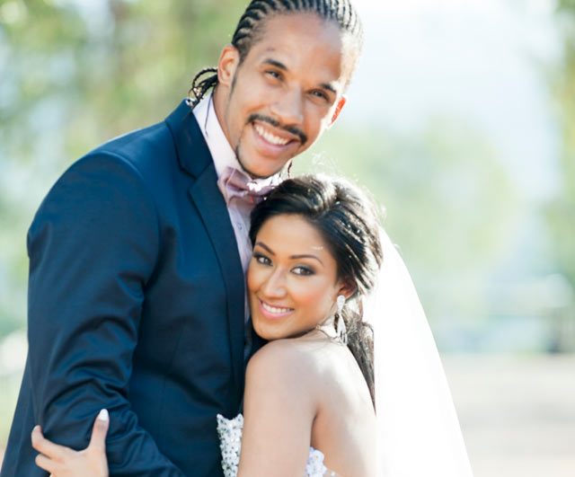 Courtnall Skosan wedding on Top Billing 2