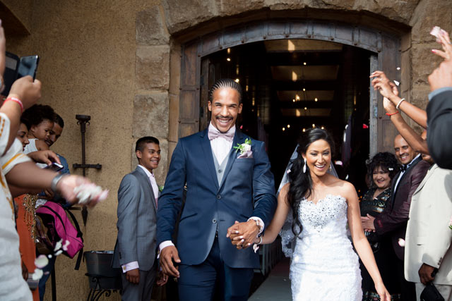 Courtnall Skosan wedding on Top Billing