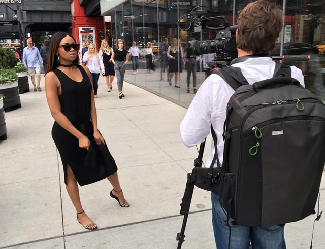 Bonang in New York 4