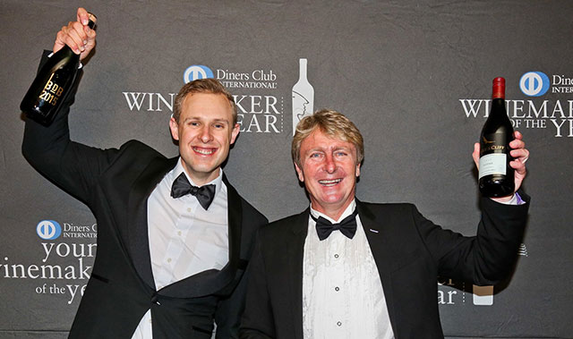 Diners Club Winemaker of the year 2017 2