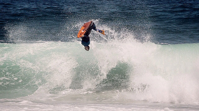 Top billing features Bodyboarder Iain Campbell  2