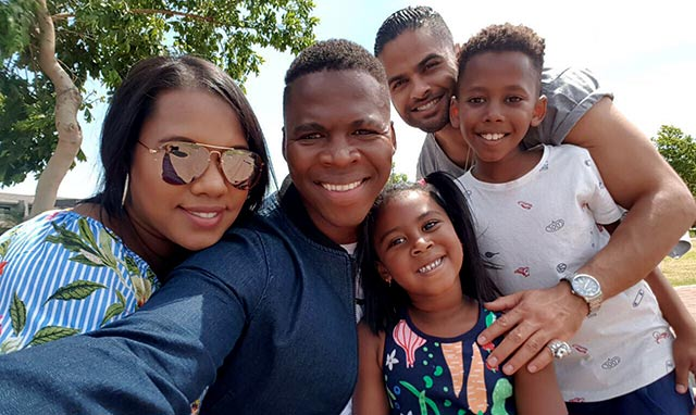 Lloyd Cele shares the news of his baby boy on Top Billing