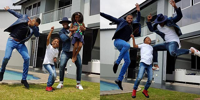 Lloyd Cele shares the news of his baby boy on Top Billing 2