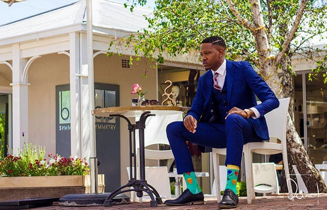 Sbu Ngema lets us in on his socks business