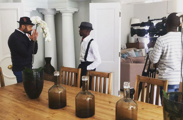 Designer Buzwe Mabuza and architect Africa Mbatha give a 100 year home a makeover 2