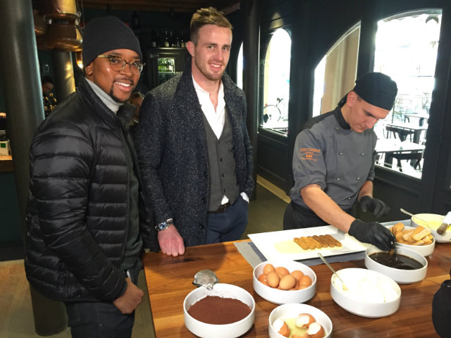 Top Billing meets up with Braam Steyn in Italy