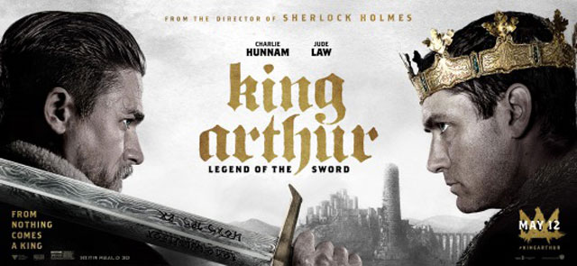 King Arthur cast interviewed on Top billing