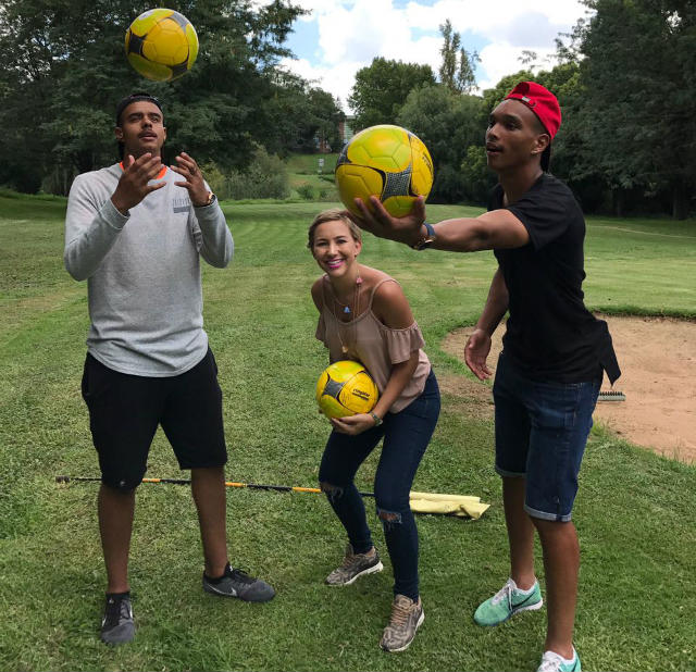 Top Billing spends the day with Kaizer Chiefs duo Brylon Petersen and Ryan Moon