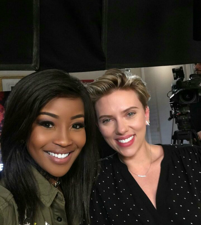 Join star of Ghost in the Shell, Scarlett Johansson, on Top Billing this Thursday evening at 8! The stage is yours.