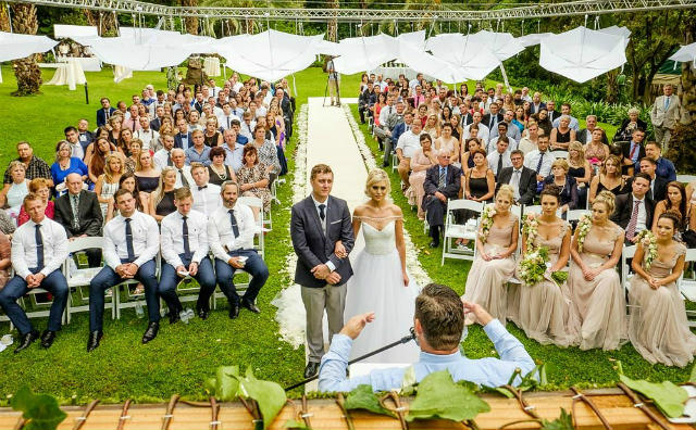 Top Billing brings you an eco friendly wedding