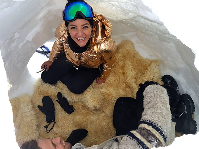Top Billing explores Canada and builds an igloo 3