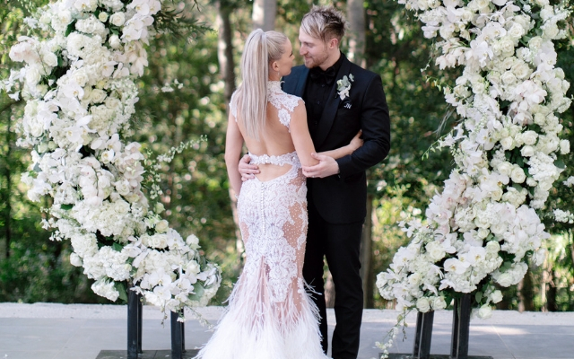 Top Billing Cherese Verster Nel wedding