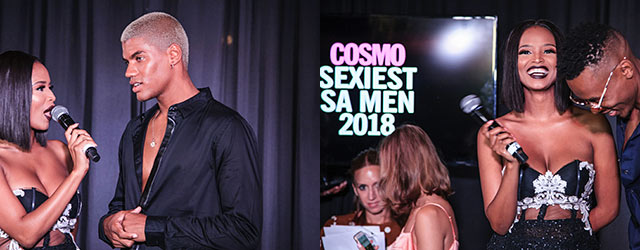 Cosmos Sexiest Man 2018 featured on Top Billing 5