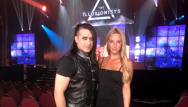 The Illusionists on Top Billing