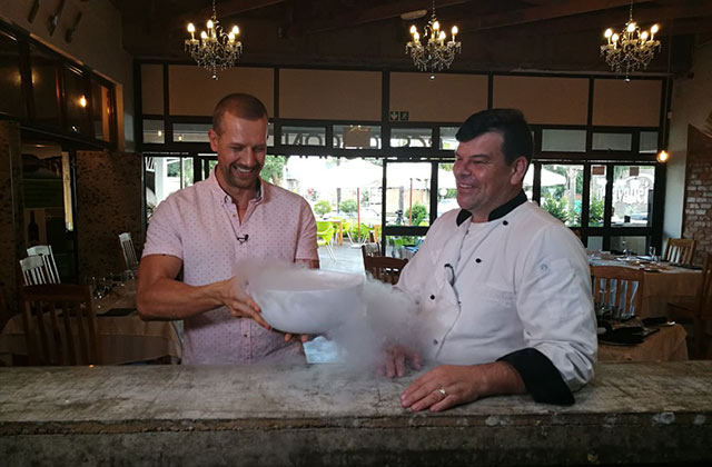 Top Billing interviews chef Brett Ladds 2