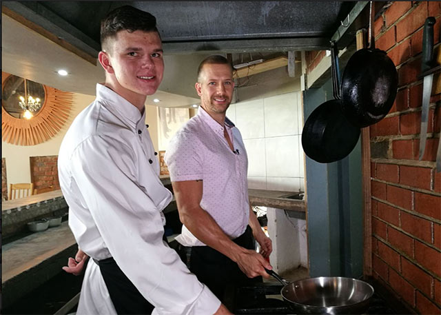 Top Billing interviews chef Brett Ladds 4