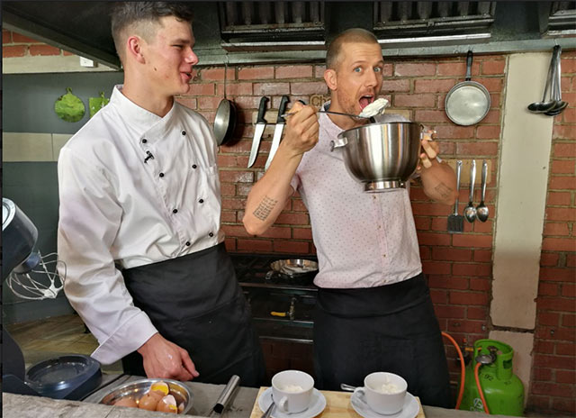Top Billing interviews chef Brett Ladds 5