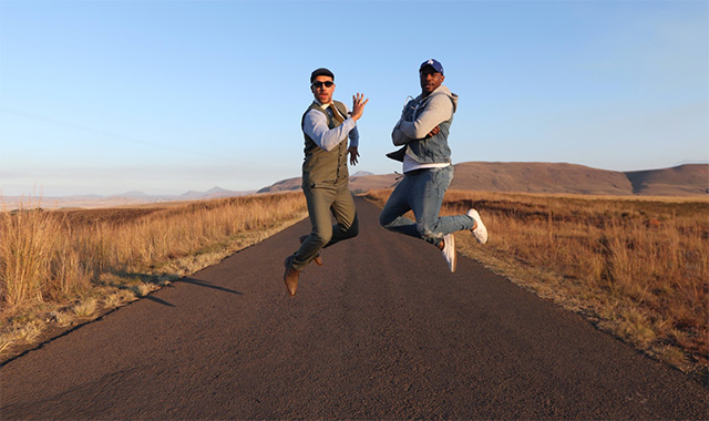 Jonathan Boynton-Lee and Stevel Marc explore the Drakensberg