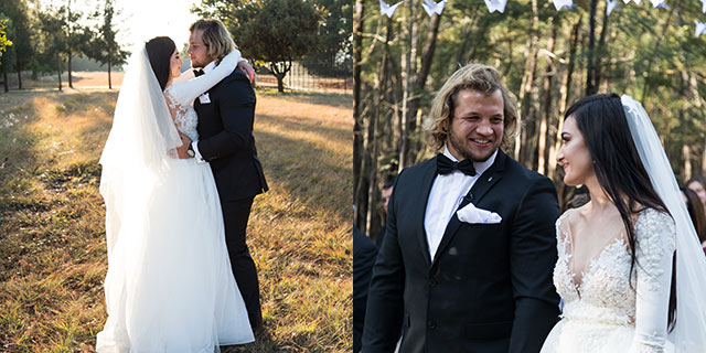 Bulls prop Pierre Schoemann gets married 3