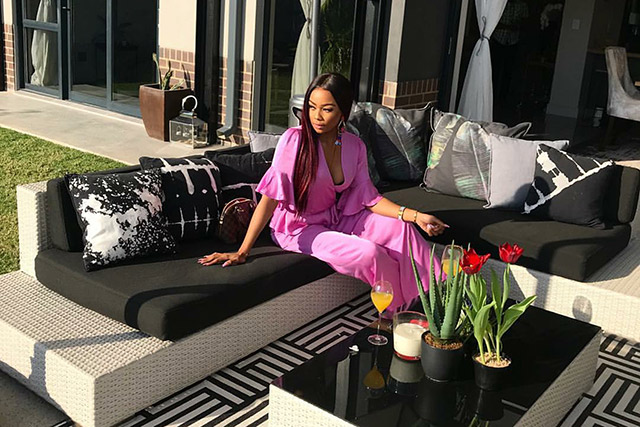 At home with Bonang Matheba 2