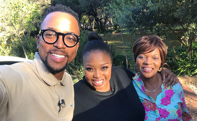 Top Billing goes behind the scenes with actress Relebogile Mabotja 2