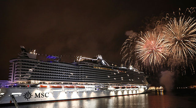 The MSC Seaview on Top Billing