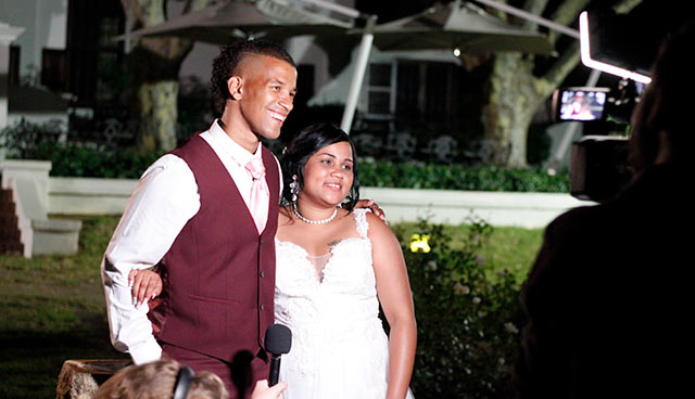 Cheetahs Rugby fullback Clayton Blommetjies weds his hometown sweetheart Yanasha Johnson and we bring you all the magic moments from their special day! 3