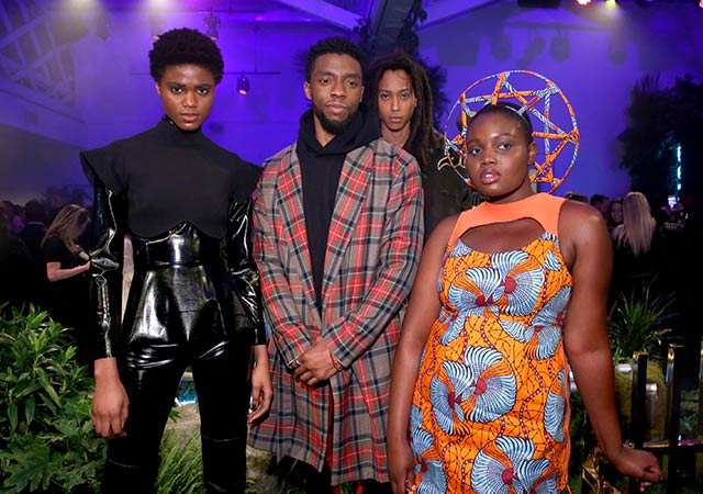 Black Panther inspired Fashion on Top Billing
