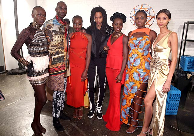 Black Panther inspired Fashion on Top Billing 2