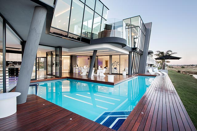 Top Billing features a modern masterpiece of a home in Benoni