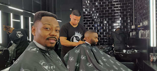 Top Billing meets the man behind Legends Barbershop 2
