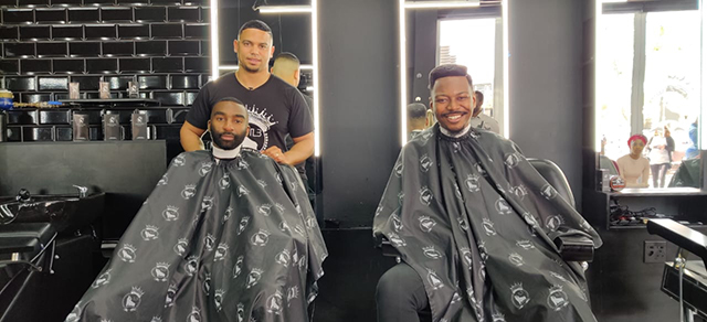 Top Billing meets the man behind Legends Barbershop 5