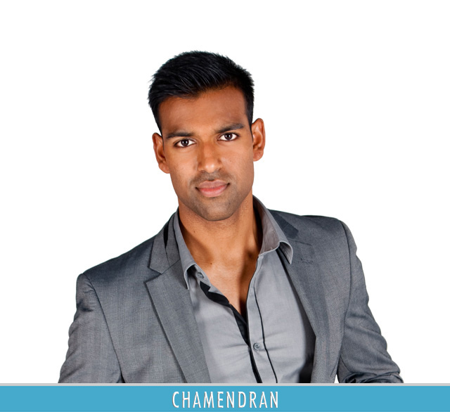 My Top Billing Dream reality show finalist Chamendran