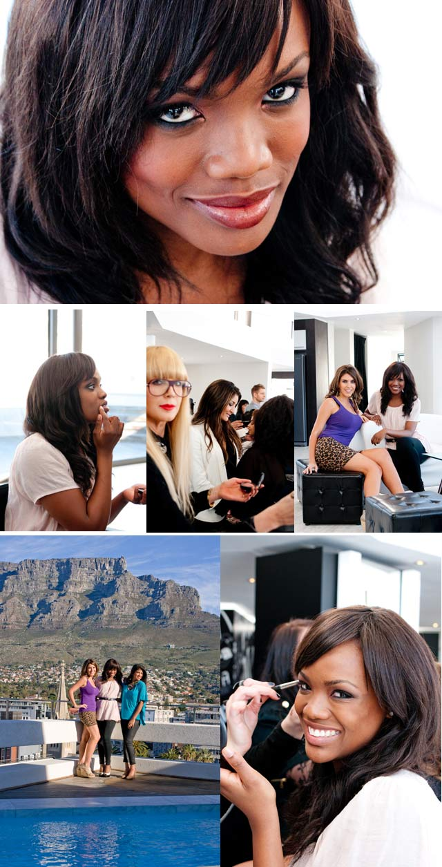 Behind the scenes on Khanya's makeover