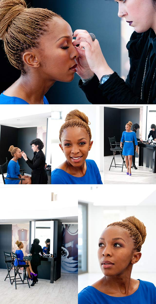 Behind the scenes on Zama N's makeover